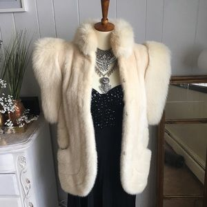 Jackets & Blazers - LUXURIOUS MINK FUR COAT